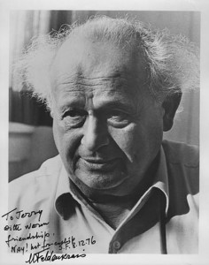 Moshe signed photo for Jerry Karzen
